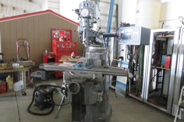 Sharp Model LMV Milling Machine LMV