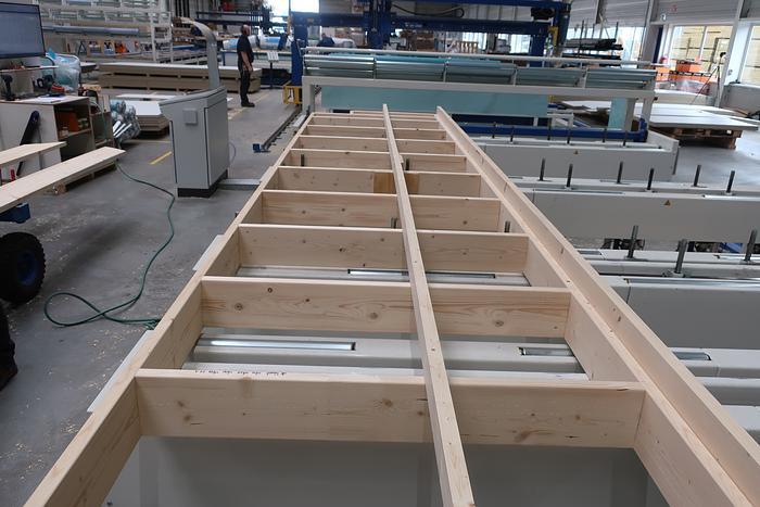 Flooring & Roof Cassette Assembly Station