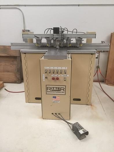 Used Ritter R46VH Boring Machine