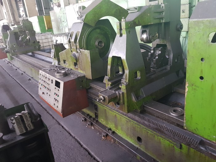 Deep hole boring machine TACCHI FT50 250 X 13000mm