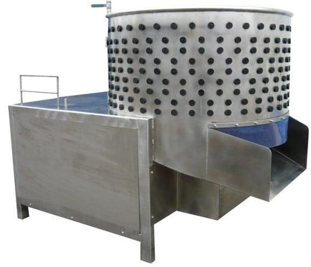 Rotative Plucker Poultry 700 Birds Per Hour