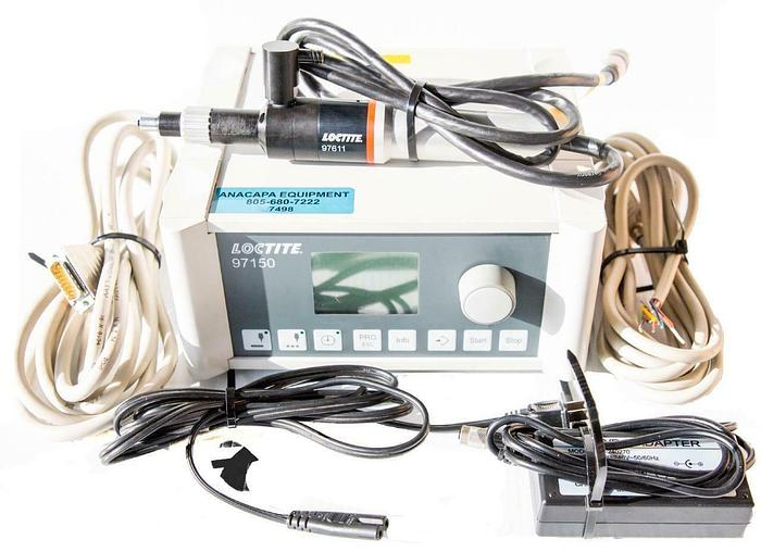 Used Loctite 97150 Compact Rotor Pump Controller & 97611 Rotor Pump Dispenser (7498)