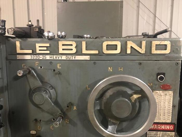 1971 LeBlond 3220-25
