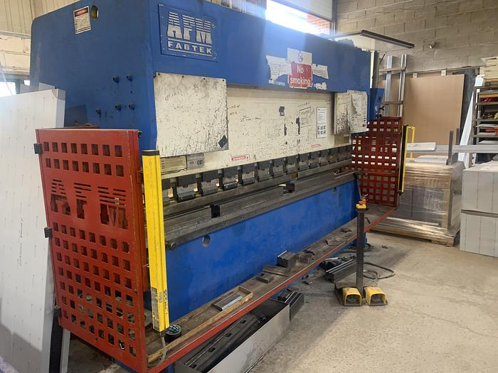 Used AFM 3m x 100 ton press brake
