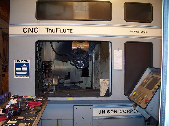 2002 UNISON 5000 TRUFLUTE CNC CUTTER GRINDER