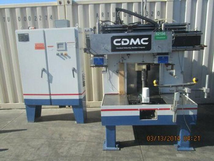 Used CDMC CLEVELAND MODEL 5000 GEAR DEBURRING MACHINE WITH ROBOTIC