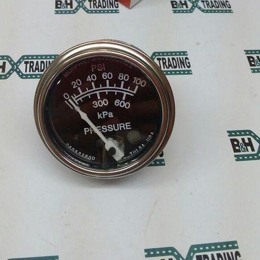 Item B&H-0104 : Pressure Gauge 100PSI / 600kPa