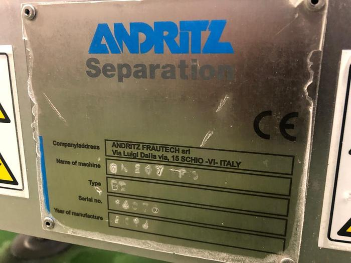 ANDRITZ CA 21-T MILK SEPARATOR