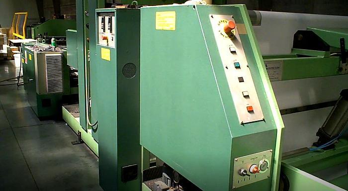 1994 Elba SA-90 - T-shirt film bag welding machine - 2 lanes