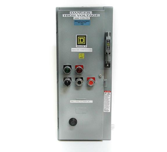 Used Square D 8538SDGV02 NEMA 2 Combination Starter Type 1 for Sullair Control (4485)