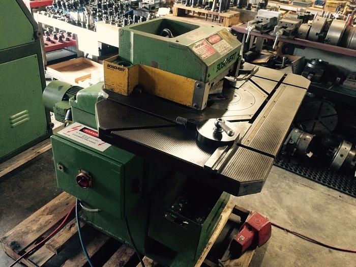 Used 1993 Boschert Mini S Variable Angle Notcher #1562