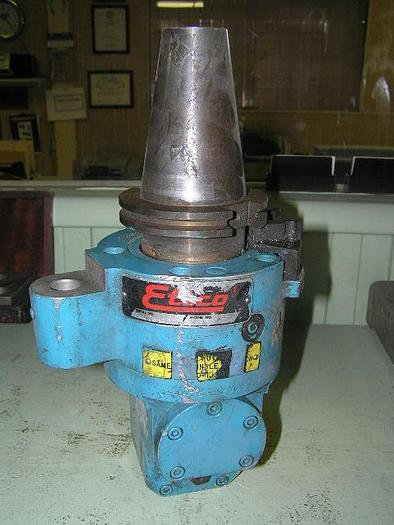 Used EHCO, No. 1, RIGHT ANGLE HEAD 50 TAPER [2680]