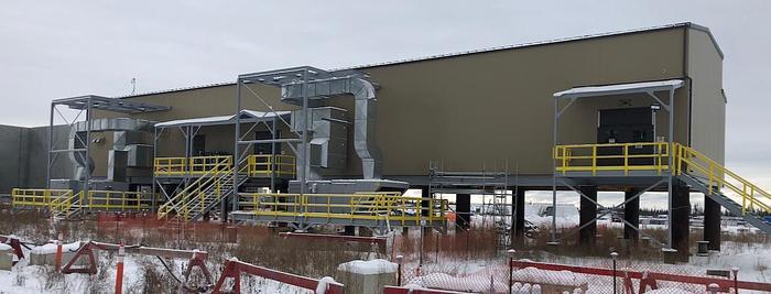 Siemens 240 kV GIS Substation & Building