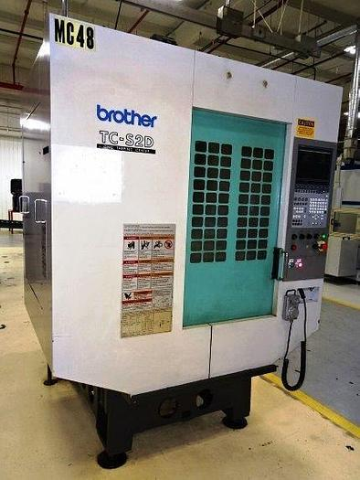 BROTHER TC-S2D 5-AXIS CNC DRILL TAP