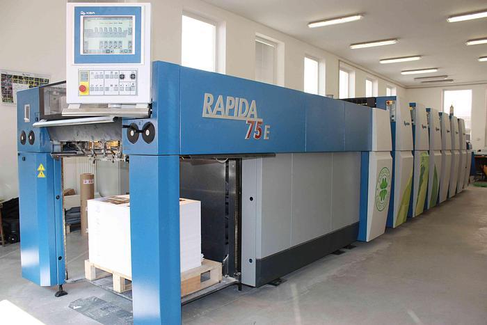 2010 KBA Rapida 75E - 5+L