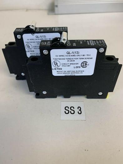 Used CBI Circuit Breaker 25 Amp 1 Pole (Lot Of 2) Fast Shipping!~ Warranty ~