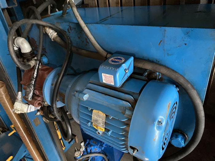 Used Fluid- air components 15 HP hydrauilic pump with tank
