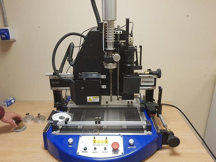 HAKO FR-1418 SMT/BGA Semi Auto Removal/Placement Machine