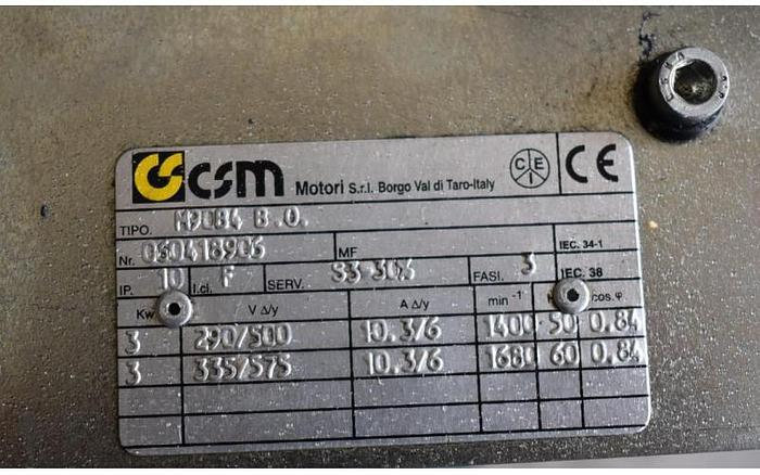 USED HYDRAULIC PACK, WITH FOUR GEAR PUMPS