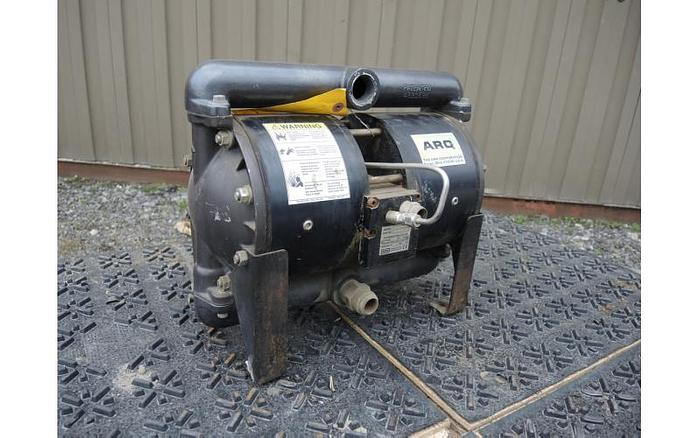 "Used USED DIAPHRAGM PUMP, 1"" X 1"" INLET & OUTLET, ""HIGH PRESSURE"" ALUMINUM"