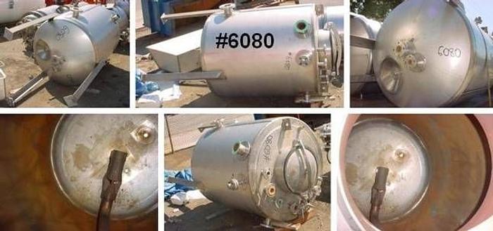 Used 200gal Mueller Stainless Steel Tank