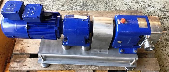 Refurbished APV lobe rotor pump, type CL-2-036-20
