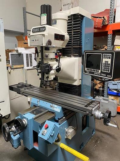 Used Southwestern Industries Trak TRM 2 Axis CNC Bed Mill #5719