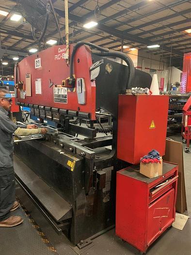 1997 88 Ton Amada RG-80 CNC Press Brake