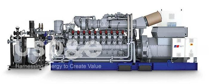 5 MW 2020 New Rolls Royce MTU 20V4000 GS Natural Gas Generator