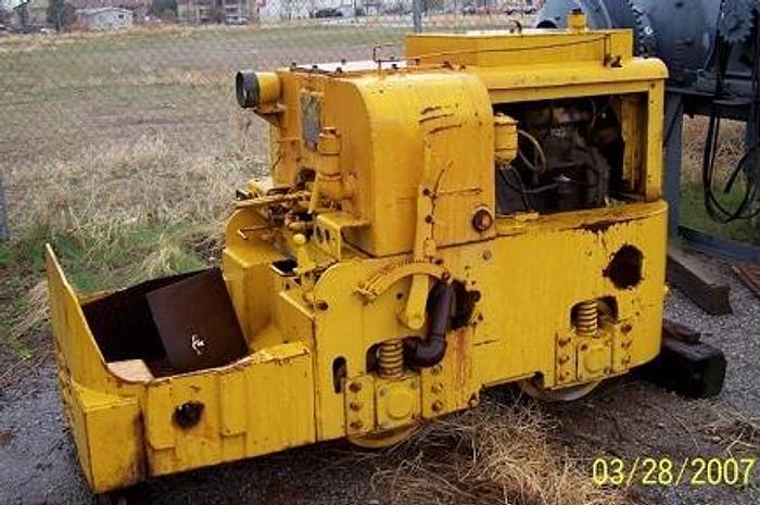 Used Underground Diesel Mancha Locomotive