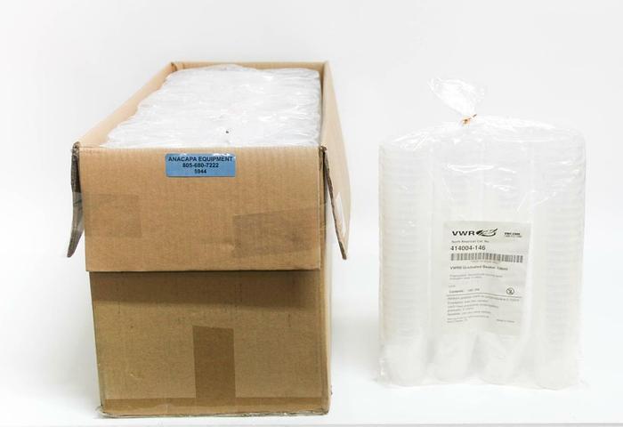 VWR 414004-146 Graduated Beakers Polypropylene Lot of 1000 NEW (5944)