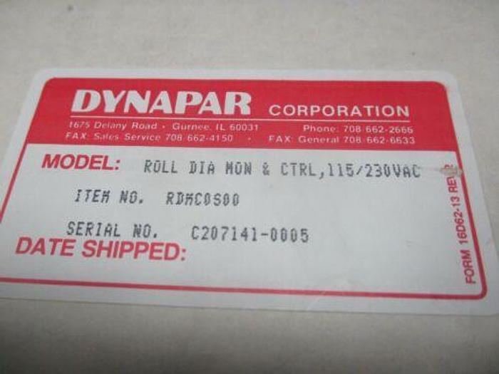 DYNAPAR MAX R.D.M.C.