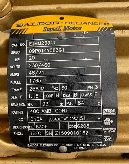 Goulds 4'' x 3'' Mild Steel Centrifugal Pump