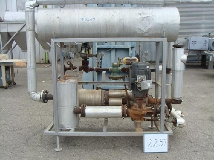Used Bell & Gossett Type Hot Water Heat Set