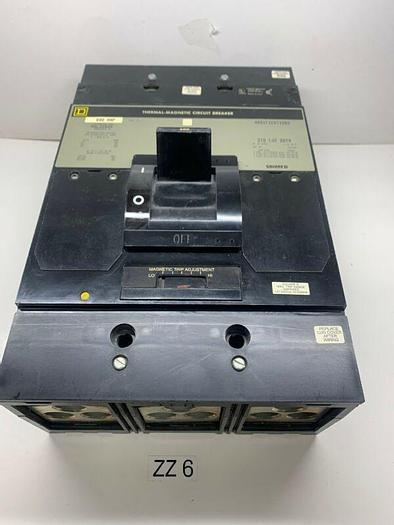 Used Square D MAL36600 Series 2 600A Circuit Breaker 3 Pole 600VAC/250VDC Warranty