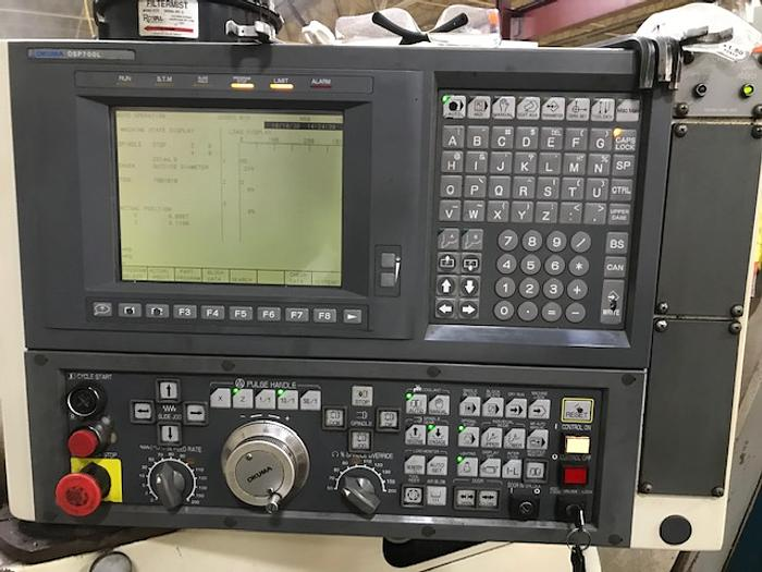 OKUMA Crown 762S-BB OSP-700L Control
