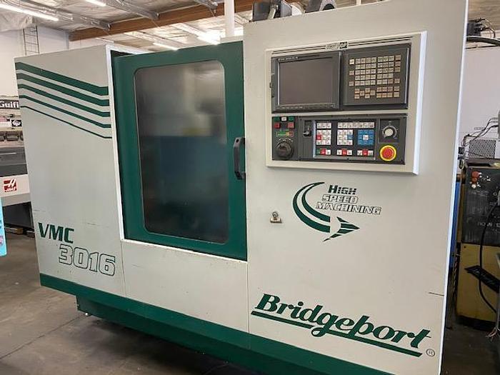 Used BRIDGEPORT VMC 3016 CNC VERTICAL MACHINING CENTER