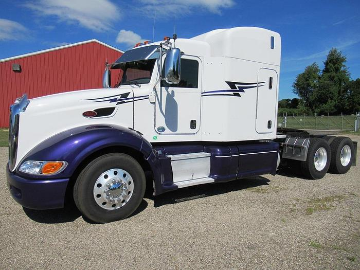 used 2010 peterbilt 386 for sale in grand rapids mi 2010 peterbilt 386