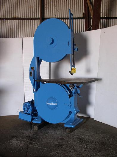 "Used 36"" Tannewitz Model G1E Vertical Band Saw"