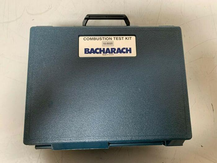 Used Bacharach 10-5020 Combustion Test Kit