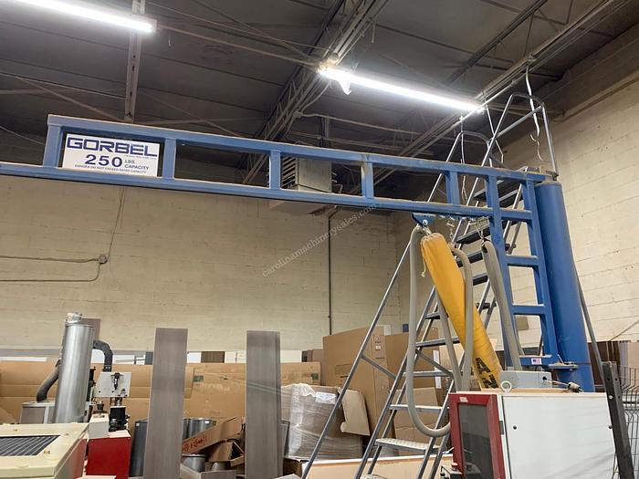 Used Gorbel 250 lbs Vacuum Lift
