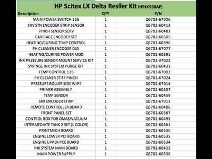 Used 2012 HP Scitex U0N73A
