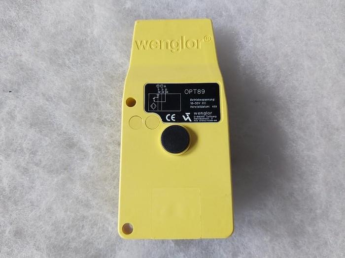 Optoelektronischer Sensor, OPT89, Wenglor,  neu