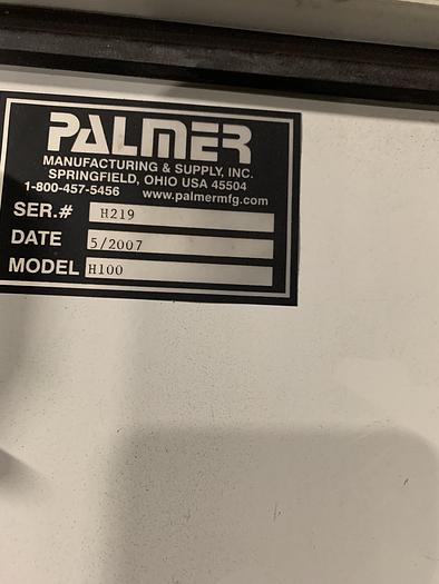 2007 PALMER H-100 ELECTRIC SAND HEATER (on hold)