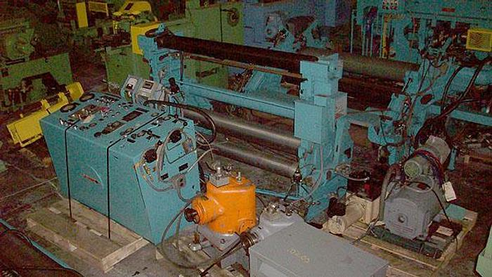 "Used 63"" Cameron Aluminum Foil Slitting Line: FS-071"