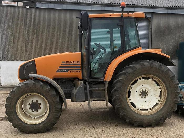 Used Renault Ares 620RZ 4wd Tractor