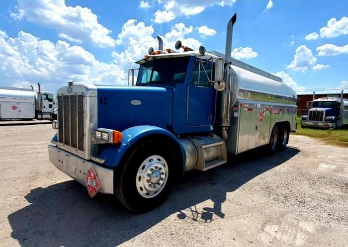 Used 1997 PETERBILT 379 FUEL TANKER 4,200 GALLONS
