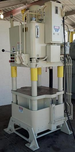 120 Ton Fisher / Precision Model AJF-7 4-Post Hyd. Press; Up Acting Type; Mfg. 2006; S/N 21399-40;