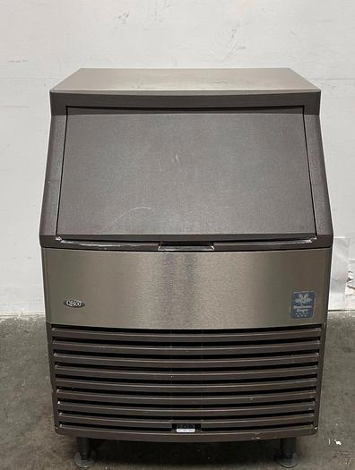 Used Manitowoc QF0406A Self-Contained Air-Cooled Flake Ice Maker QF400