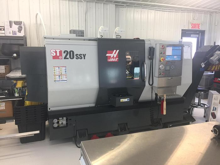 Used HAAS, ST-20SSY, 2014, CNC TURNING CENTER